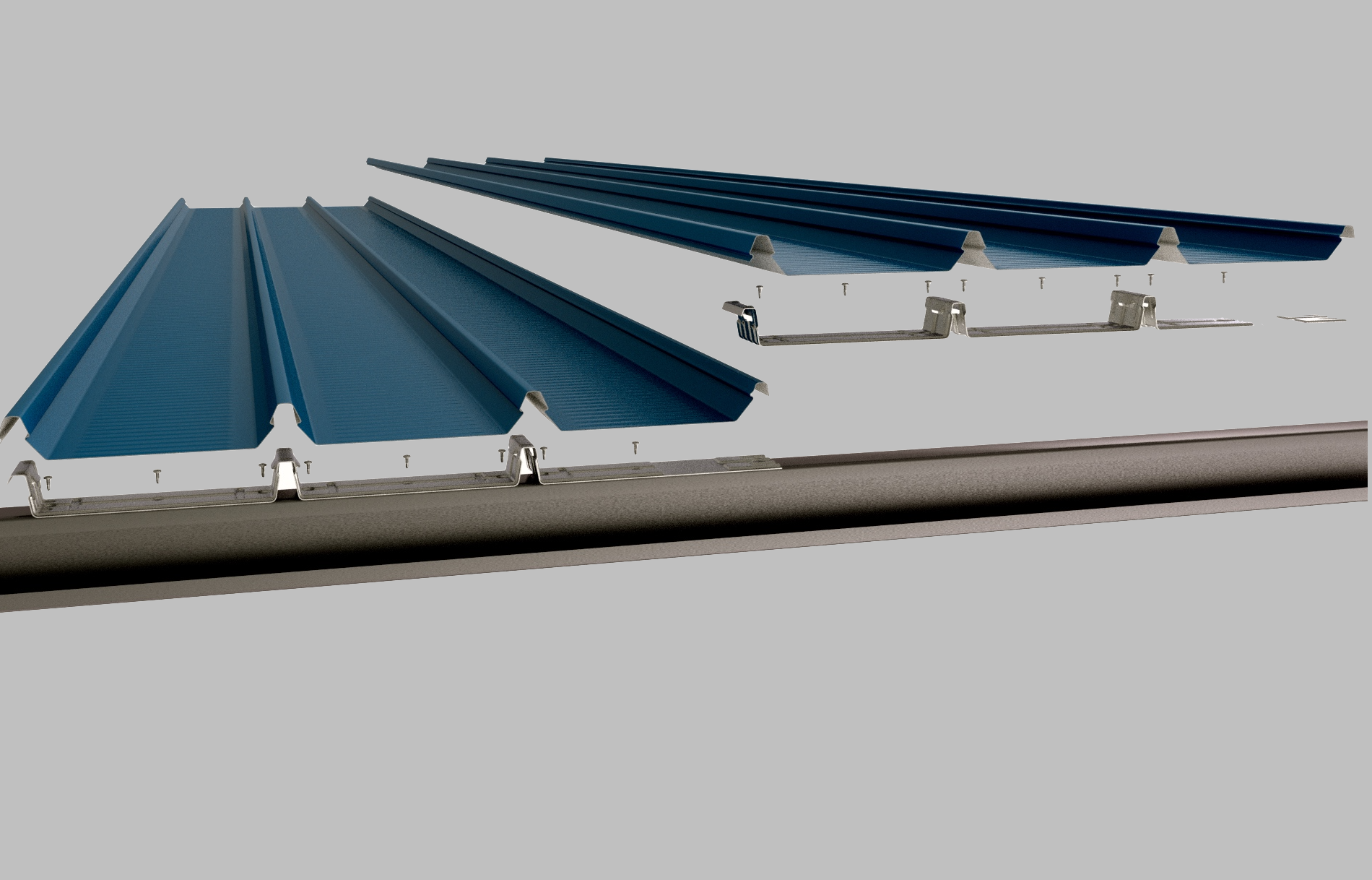 Roof Sheeting Coastal Trusses